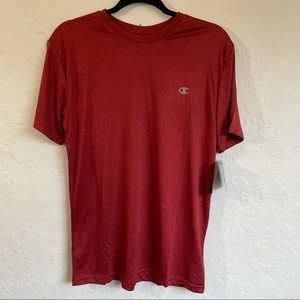 Champion Double Dry Core Tee Red